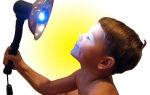Польза синей лампы при заболеваниях носа
