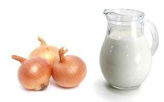 Почему молоко с луком помогает при кашле?