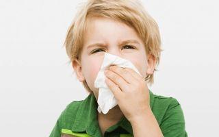 Ринит у детей: симптомы и методы терапии