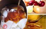 Лук и мед как средство от кашля