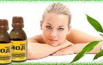 Применение йода в борьбе с кашлем: нанесение на кожу и ингаляции